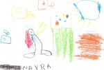 Nayara Sara de Oliveira, 5 anos